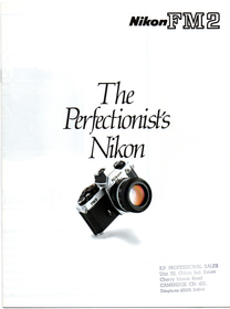 The Perfectionist's Nikon